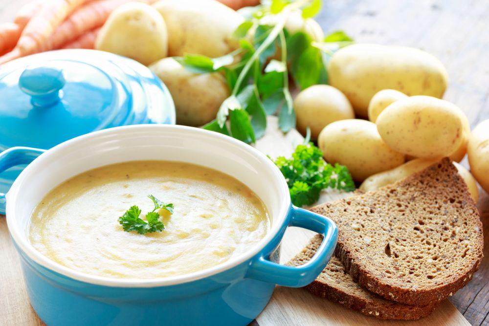 How to freeze potato soup