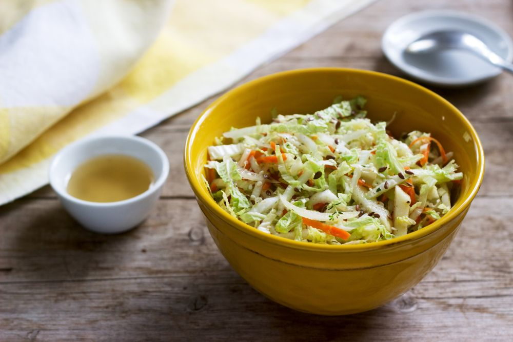 How to thaw coleslaw
