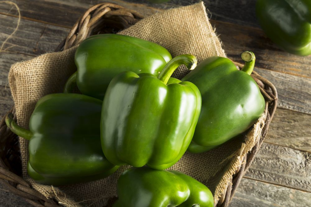 How to thaw green peppers