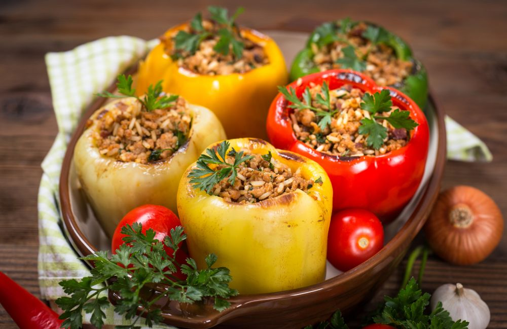 How to defrost stuffed peppers