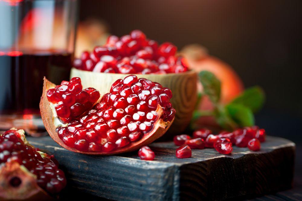 How to freeze pomegranate seeds