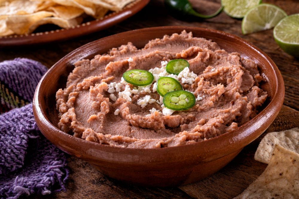 How to thaw refried beans