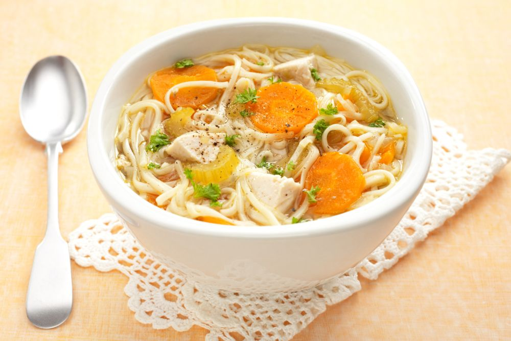 Can you freeze chicken noodle soup