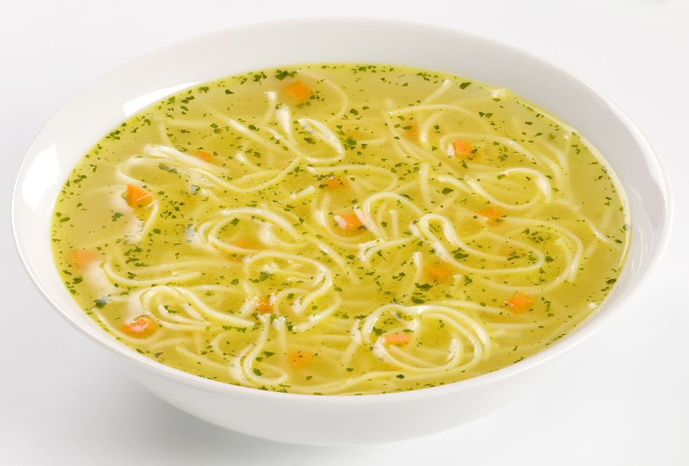 How to thaw chicken noodle soup