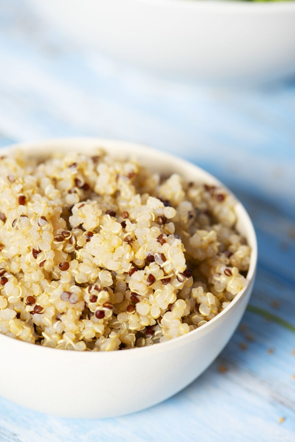 How to thaw cooked quinoa