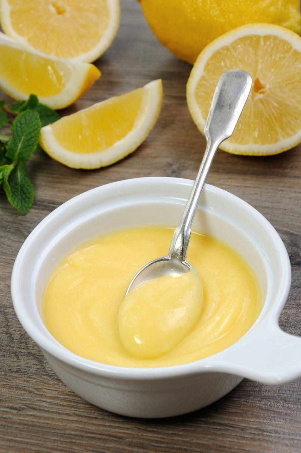 Freeze lemon curd