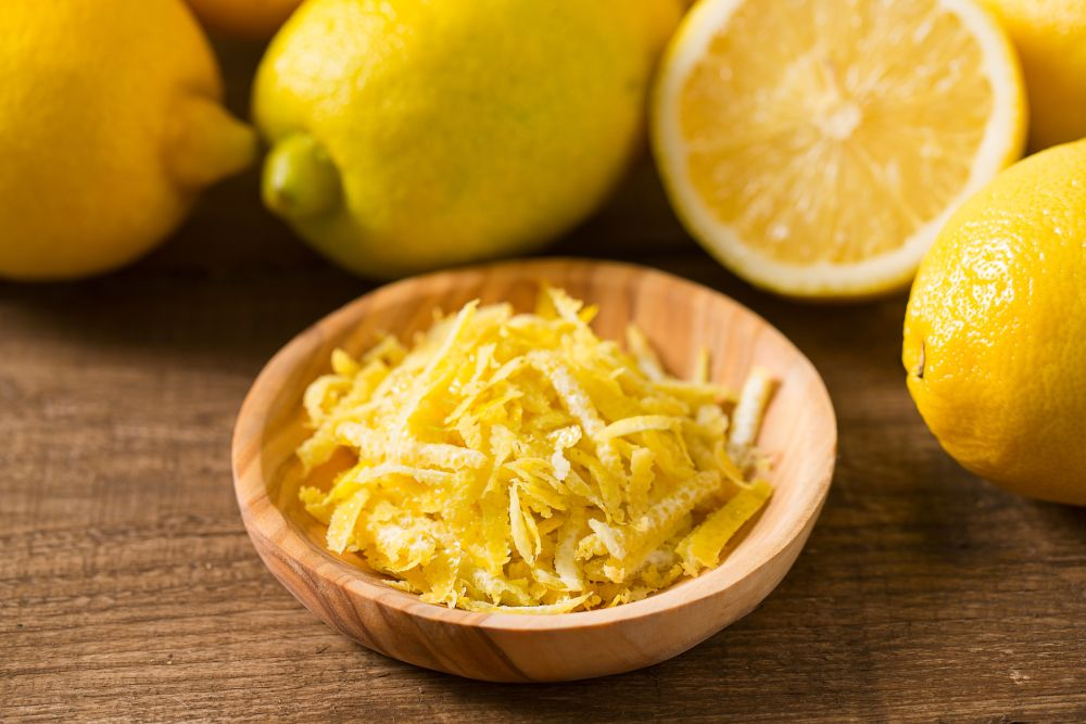 How to freeze lemon zest