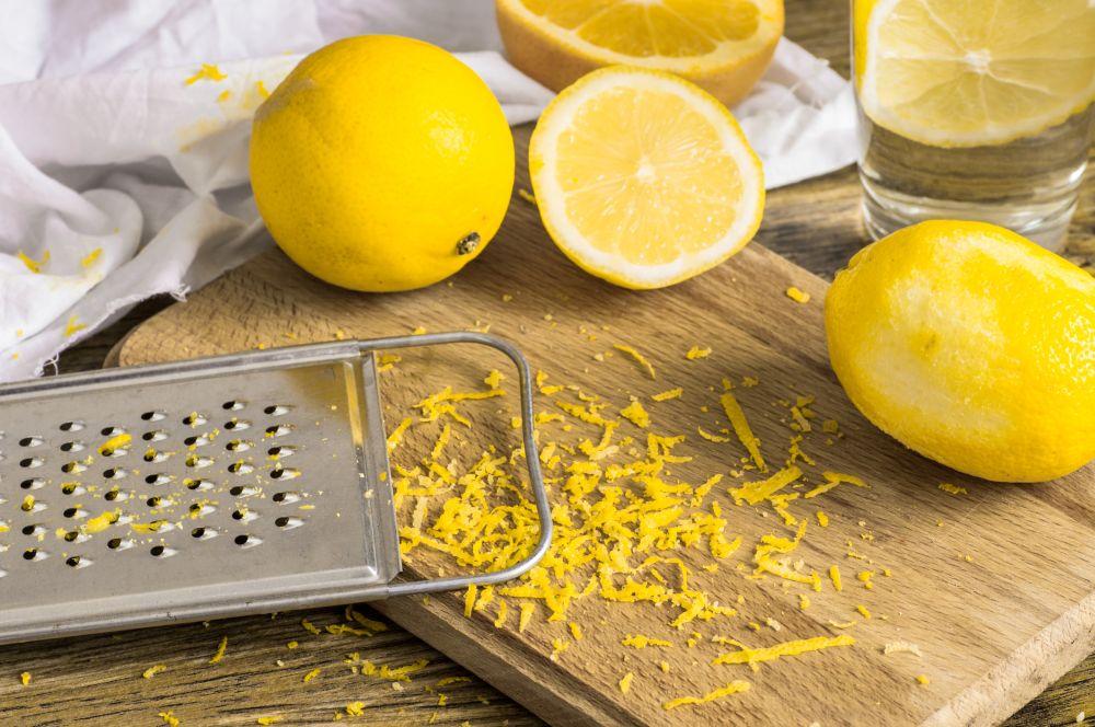 What is lemon zest
