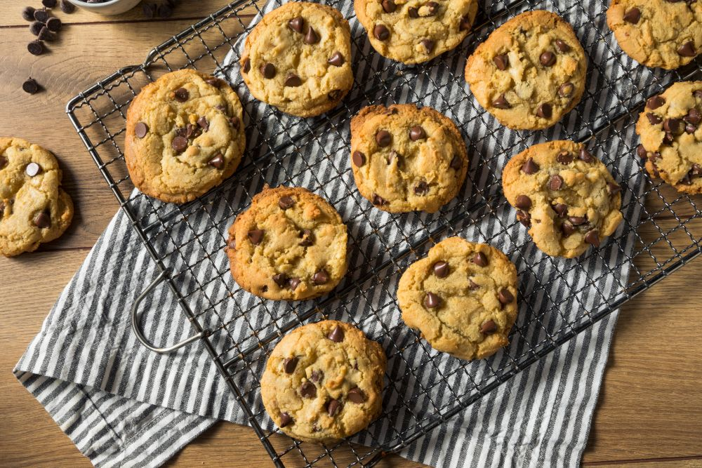 How to thaw chocolate chip cookies