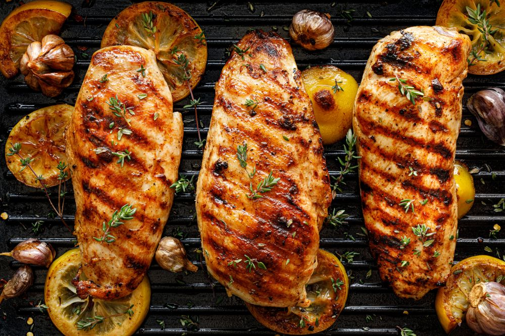 How to cook marinated chicken