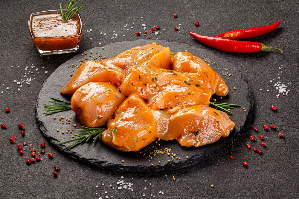 How to freeze marinated chicken