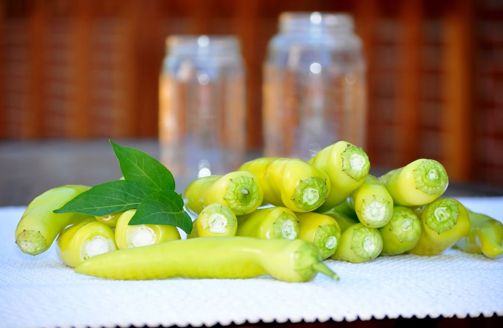How to thaw banana peppers