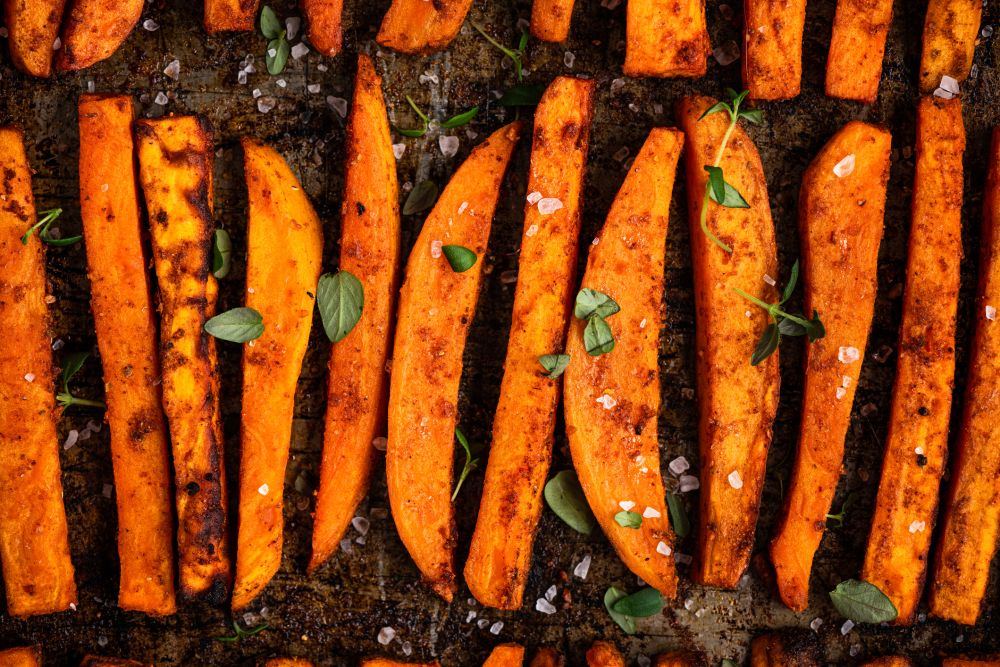 How to freeze cooked sweet potatoes