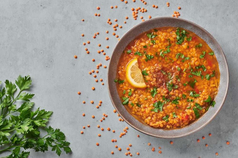 How to freeze lentil soup