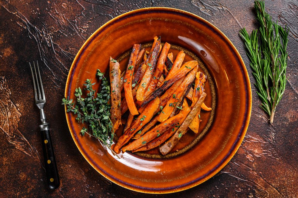 How to thaw cooked sweet potatoes