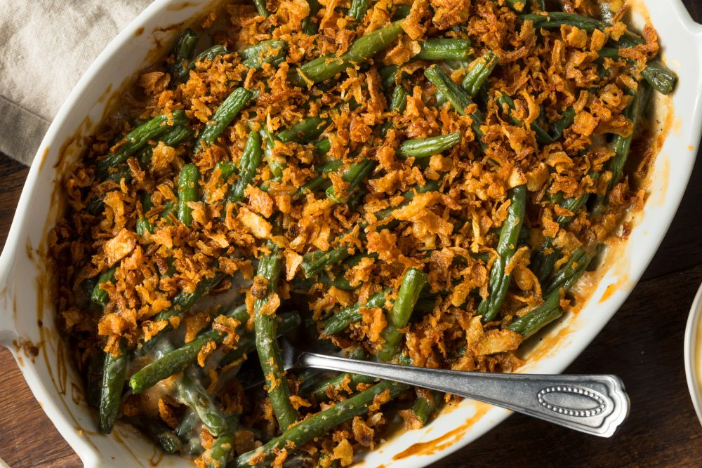 How to thaw green bean casserole