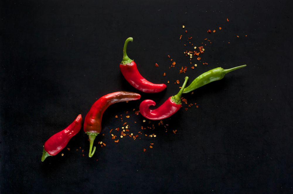 How to thaw hot peppers