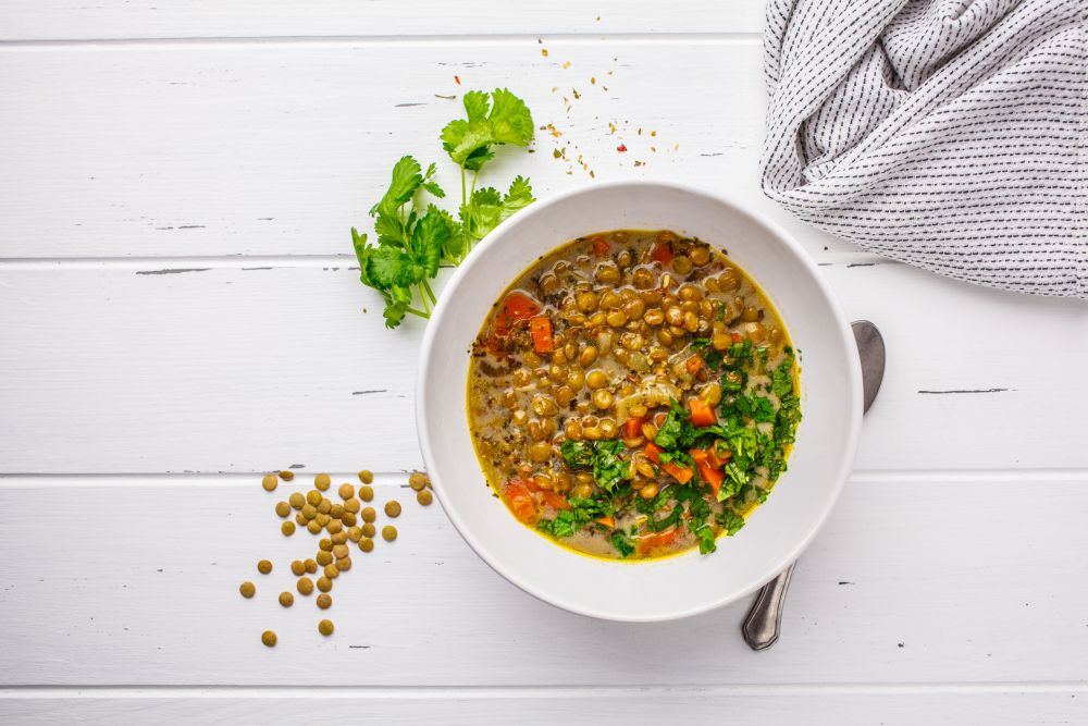 How to thaw lentil soup