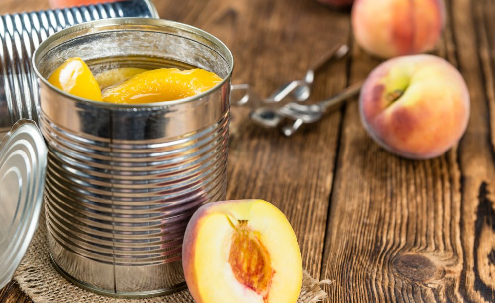 Can you freeze canned peaches
