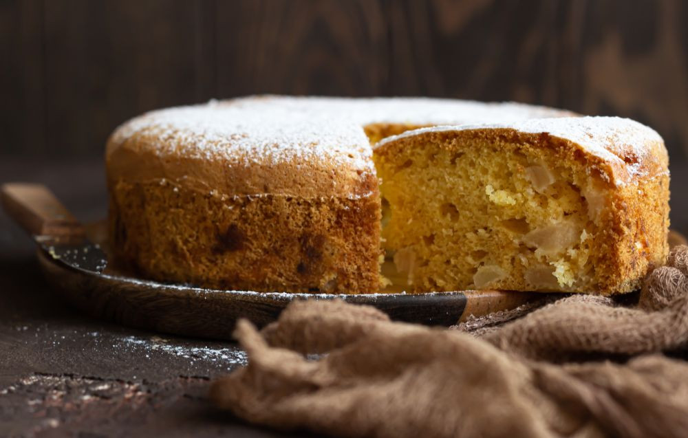 How long can you freese sponge cake for