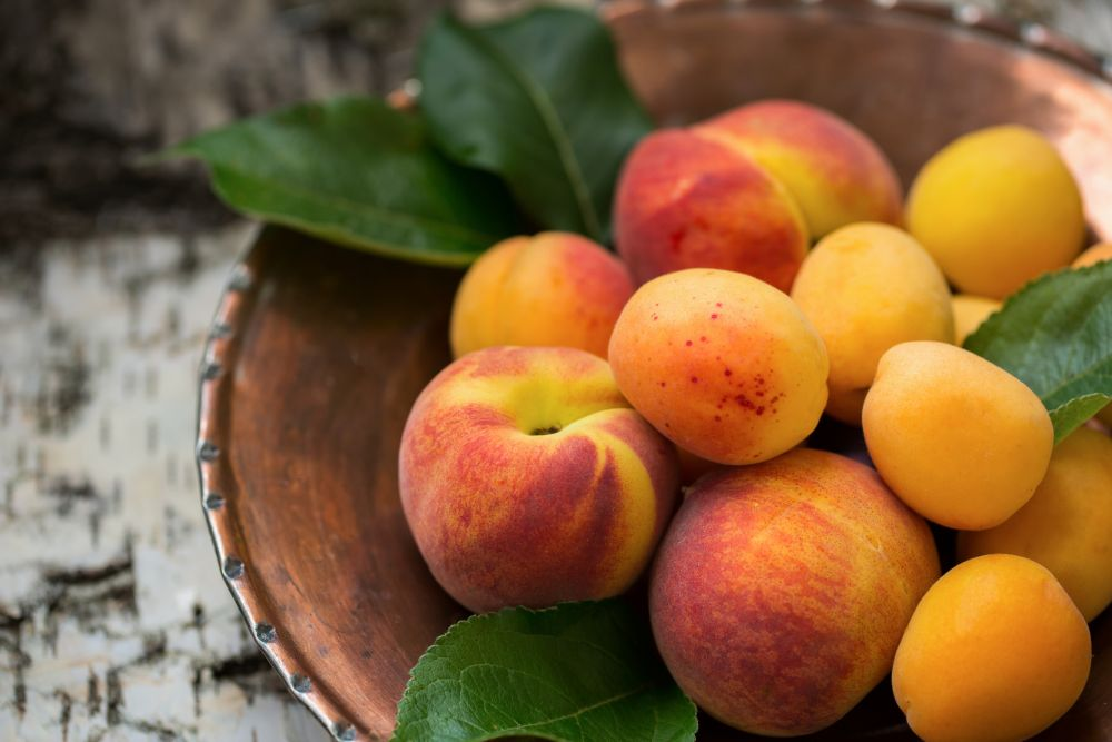 How to thaw peaches