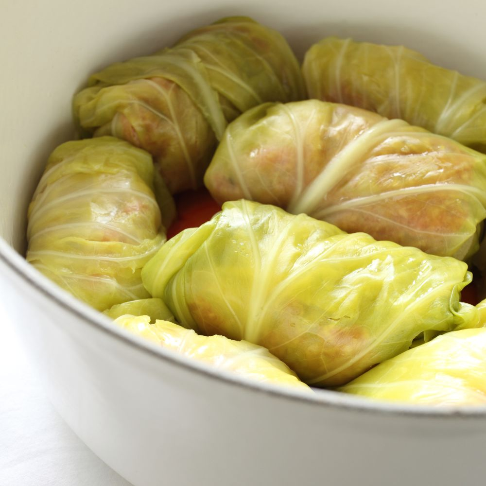 How to freeze cabbage rolls
