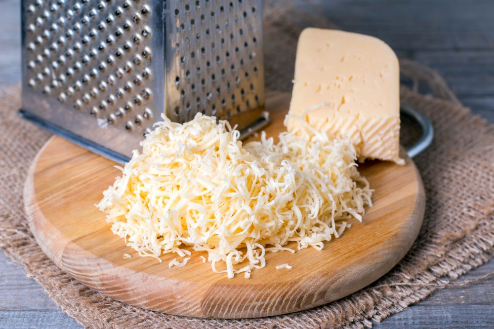 How to freeze grated cheese