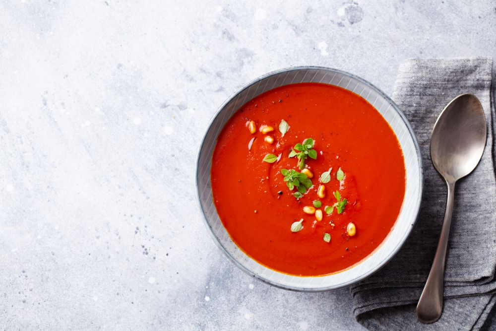 How to thaw tomato soup