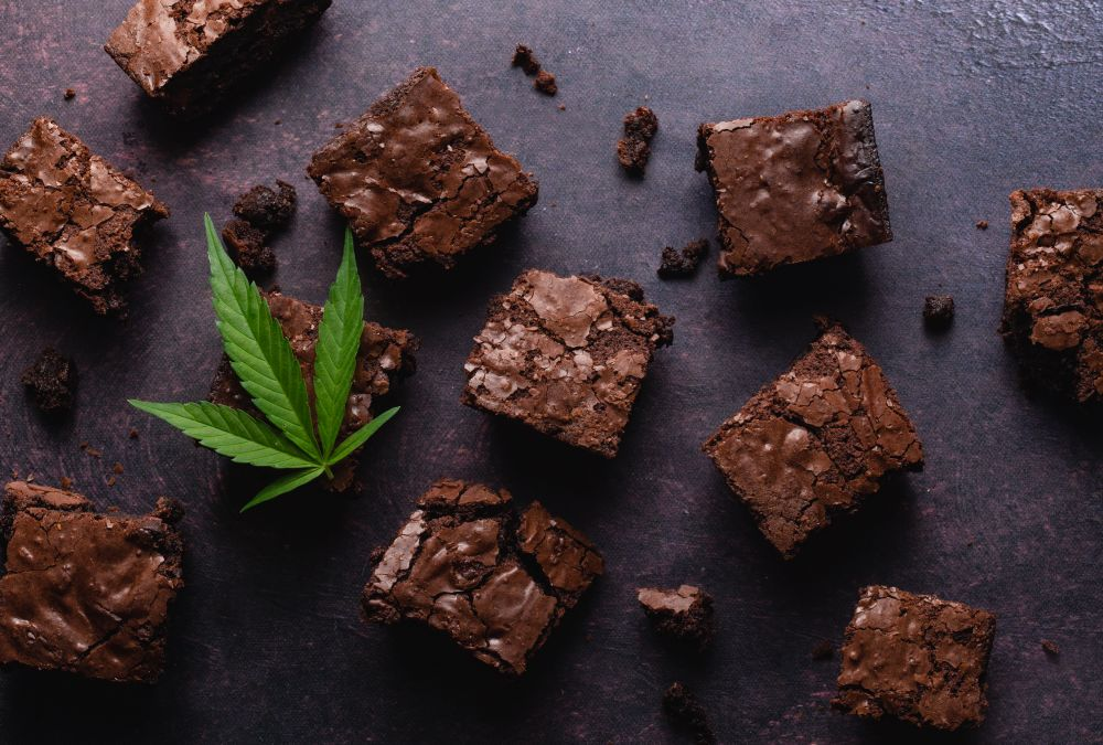 How to freeze weed brownies