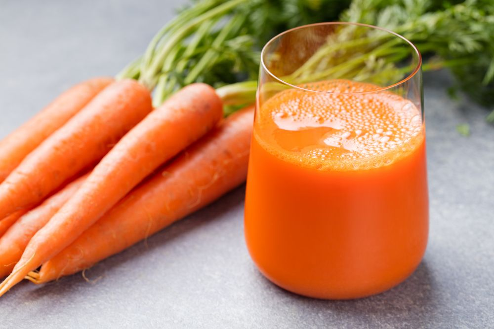 How to thaw carrot juice