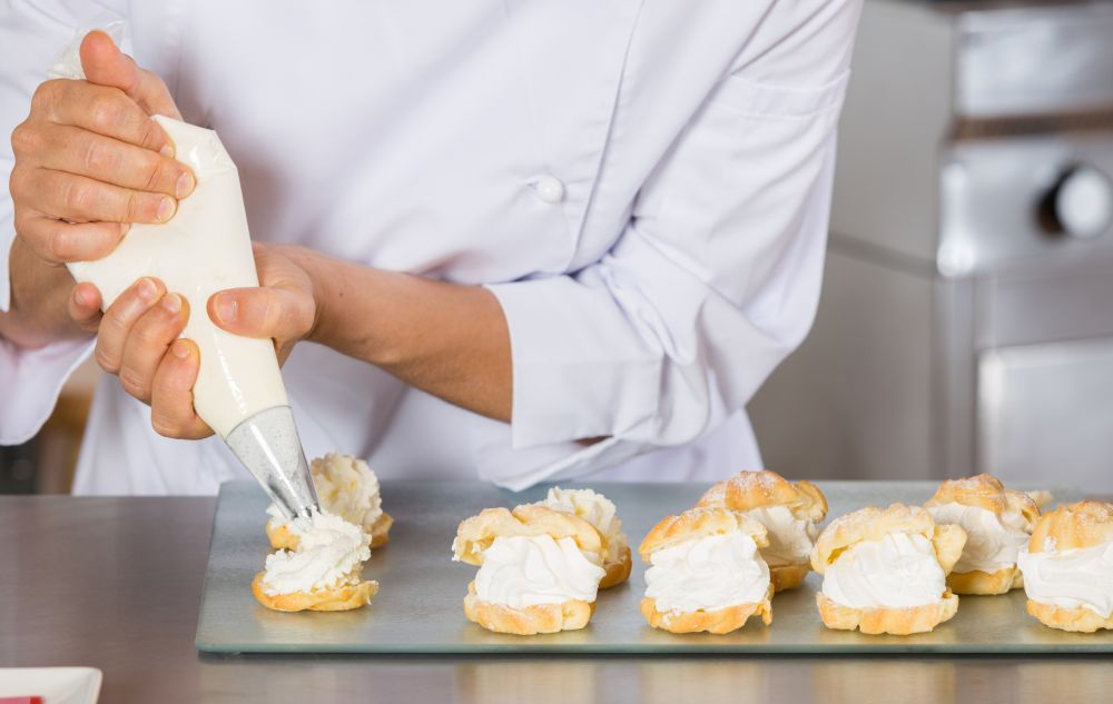 How to thaw pastry cream