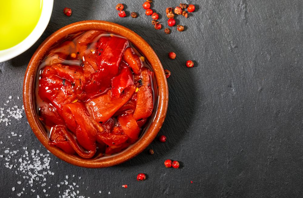 How to thaw roasted red peppers