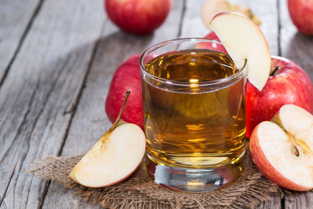 How to freeze apple juice