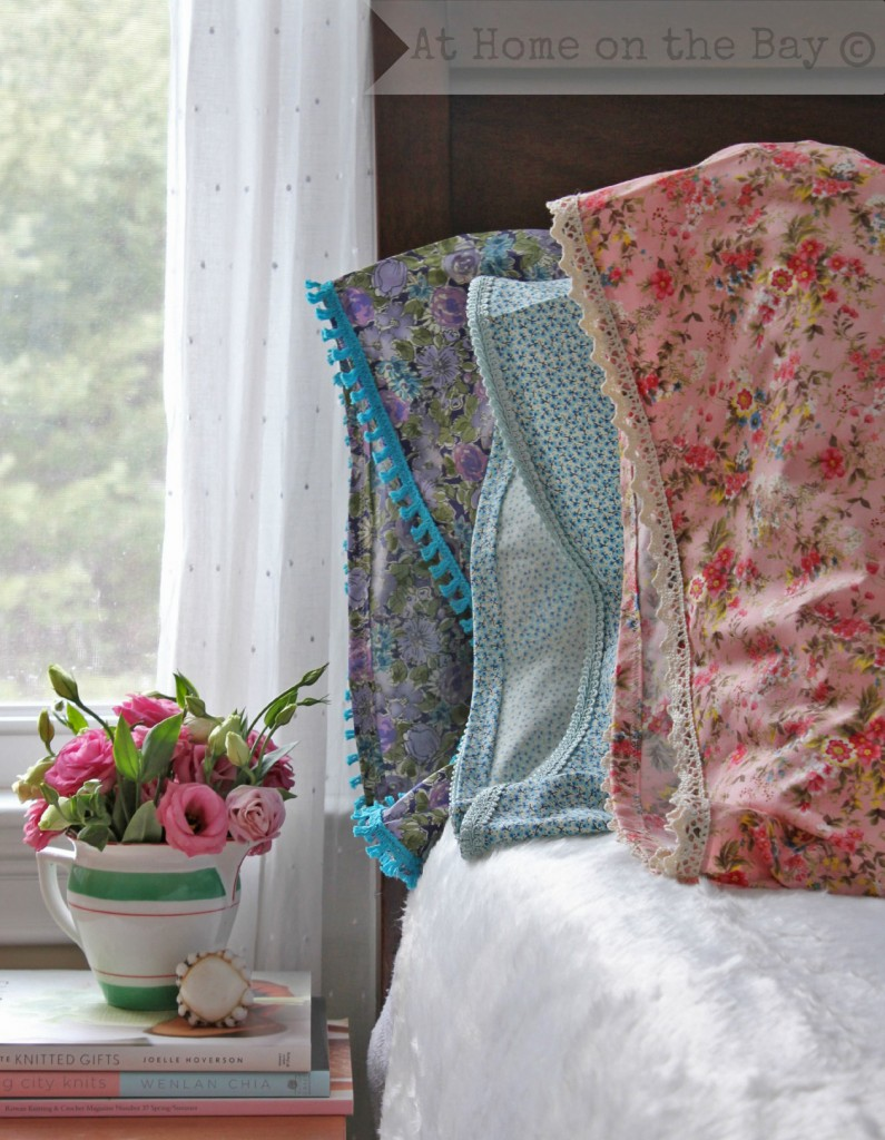 Lace Trimmed Pillowcase