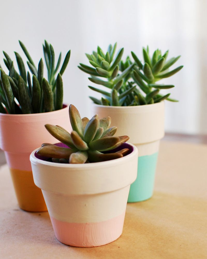 Fun Ways To Decorate Your Flower Pots