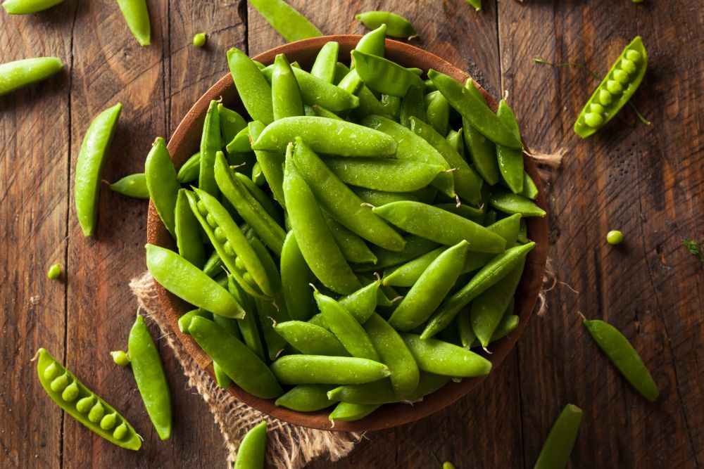 Can you freeze snow peas