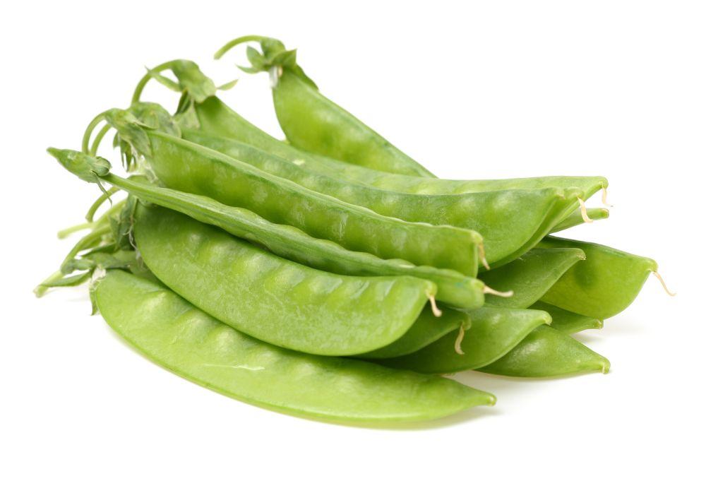 How to freeze snow peas