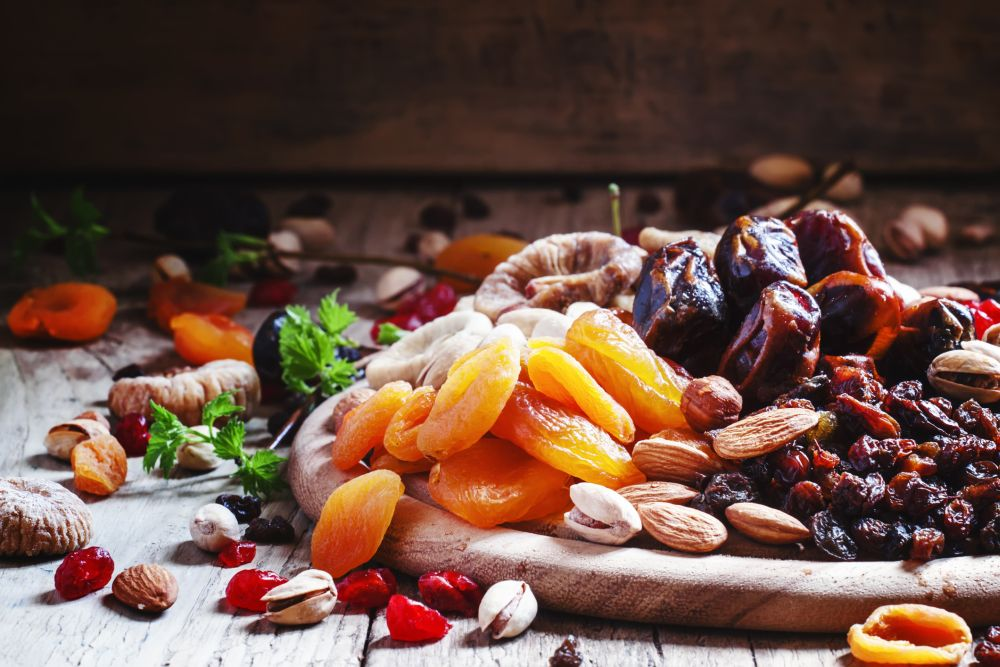 How to thaw dry fruit