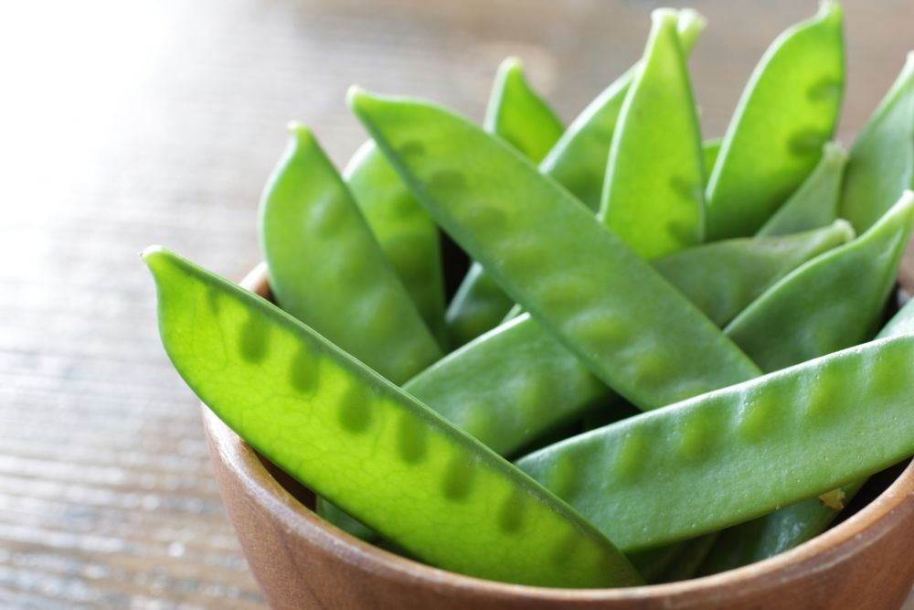 How to thaw snow peas