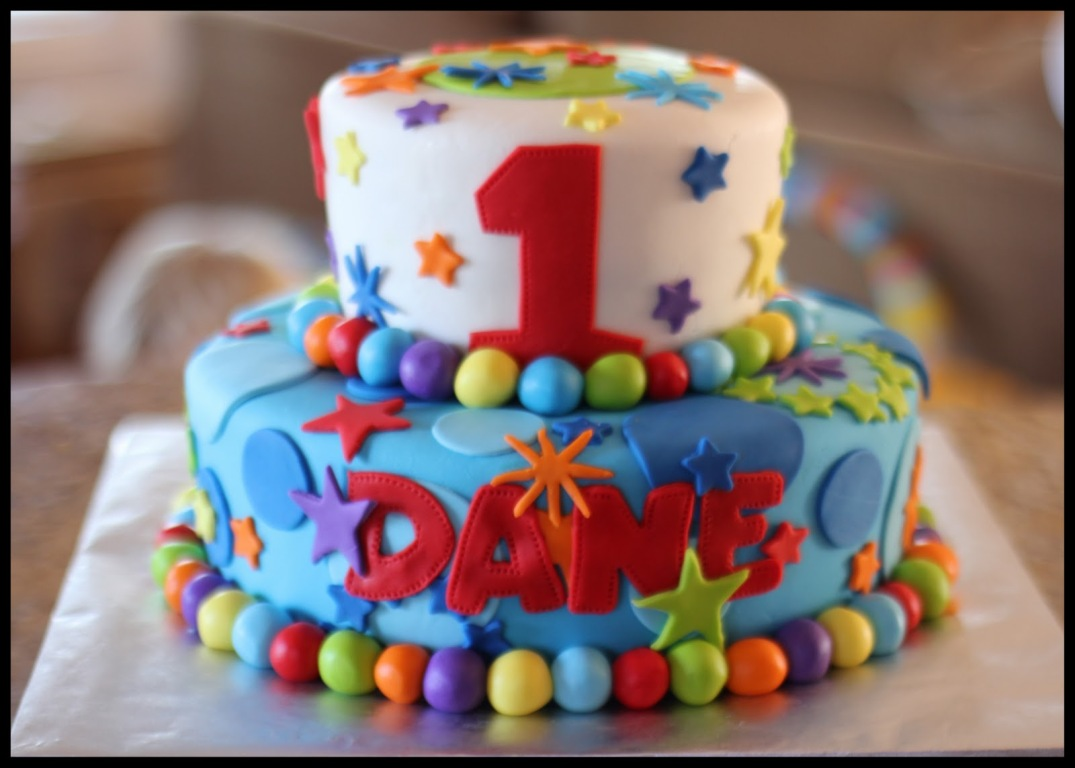 First Birthday Cake Decorating Ideas Boy : 10 Do-It-Yourself Birthday Cakes For Little Boys