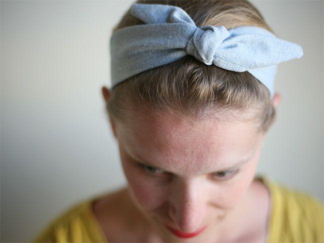 50s Bow Style Headband