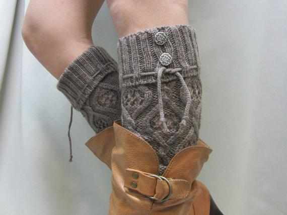 A Pair of Leg Warmers form Old Sweaters
