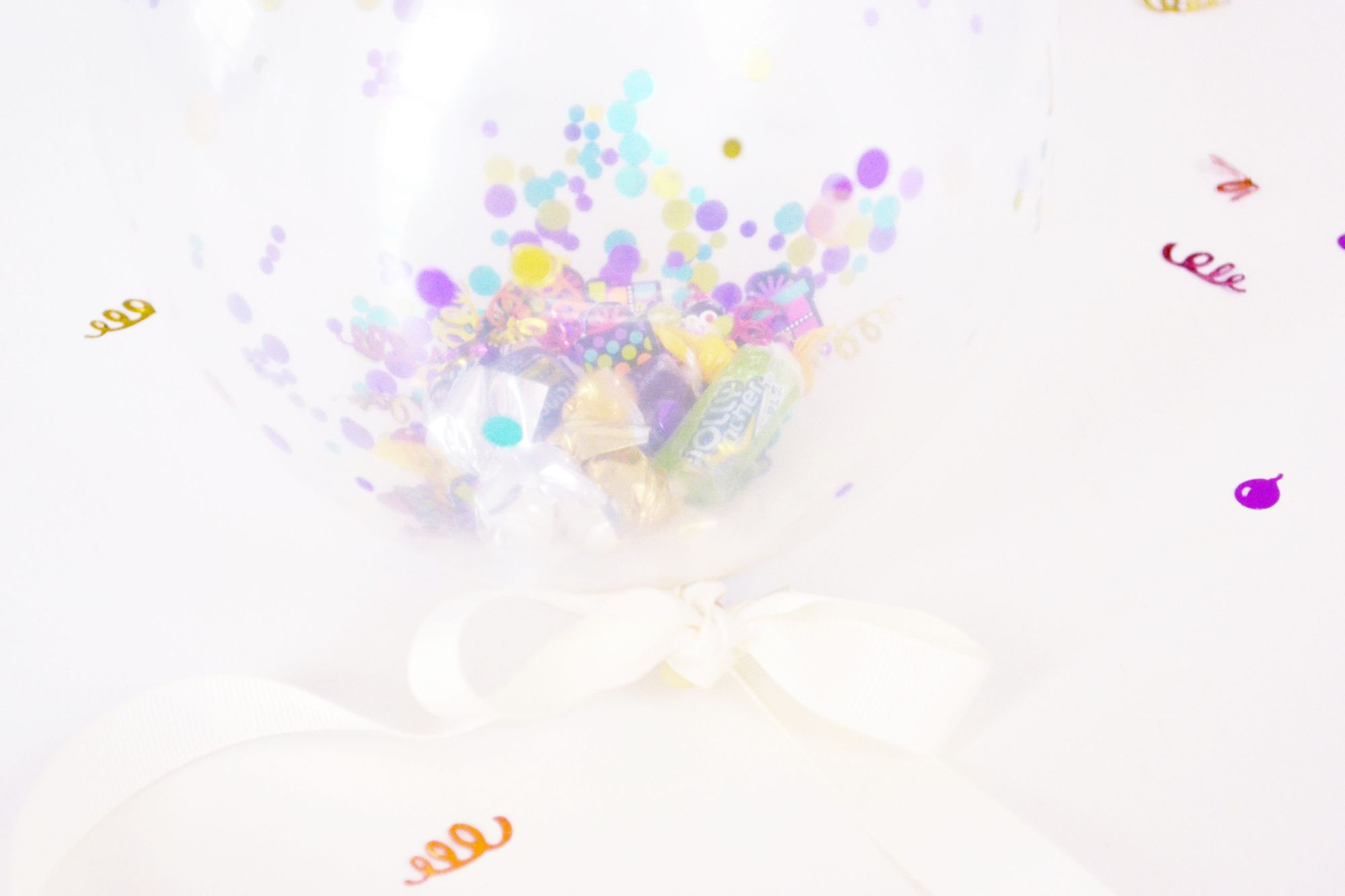 Confetti Balloon Invites Finished