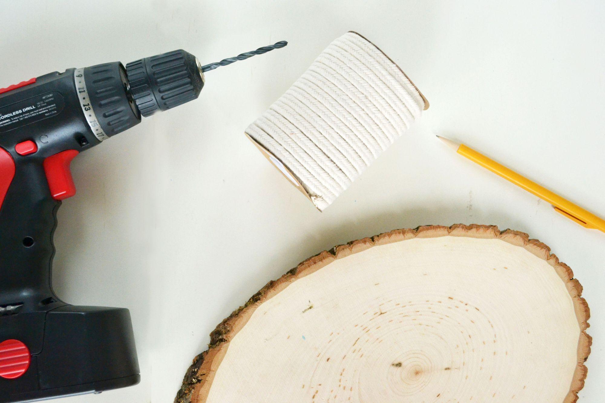 DIY A Hanging Wood Shelf Materials