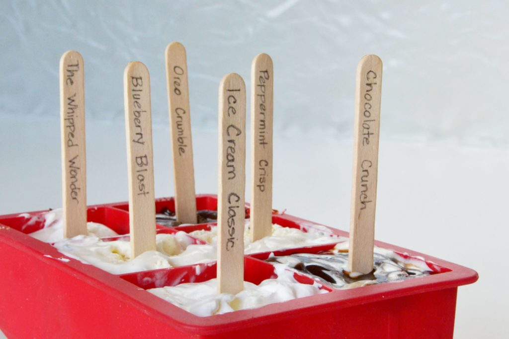 DIY Icecream Popsicles Place