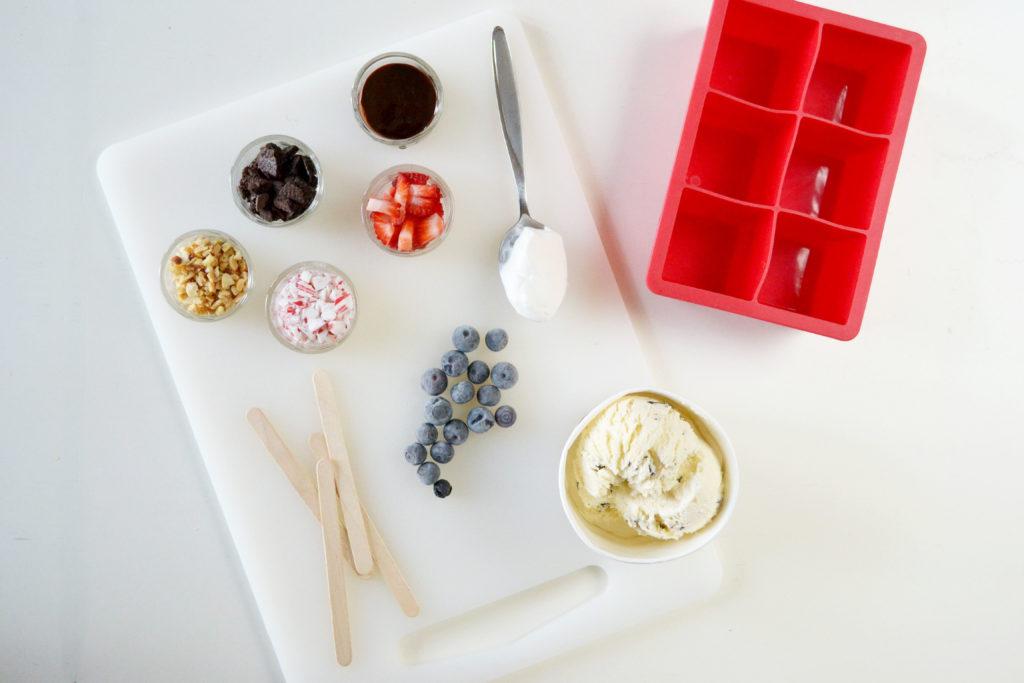 DIY Icecream Popsicles Prepare