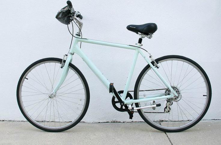 DIY Painted Bike