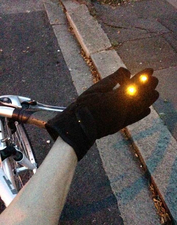 DIY indicator gloves