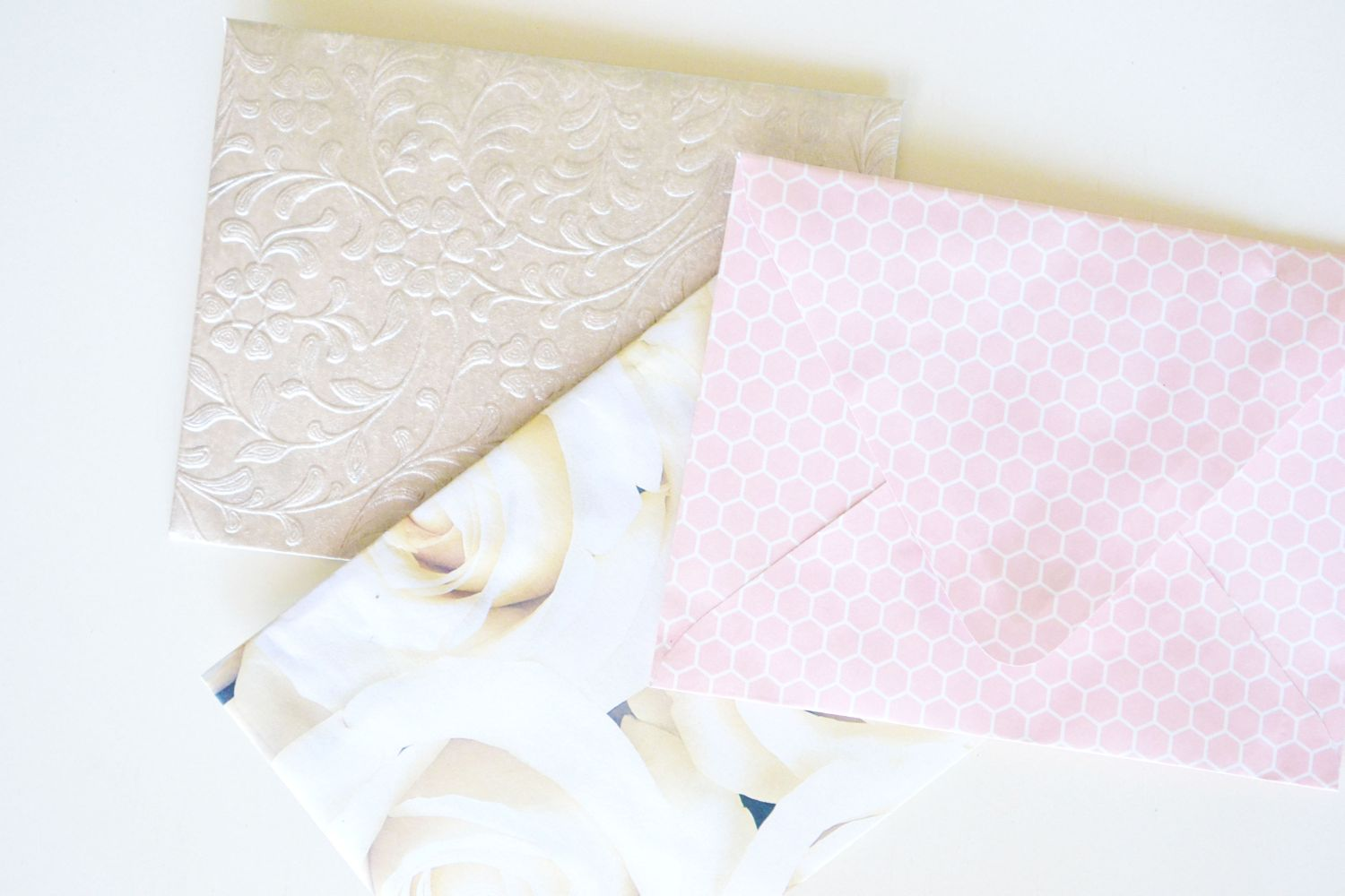 Glitter Lined Envelopes Craft