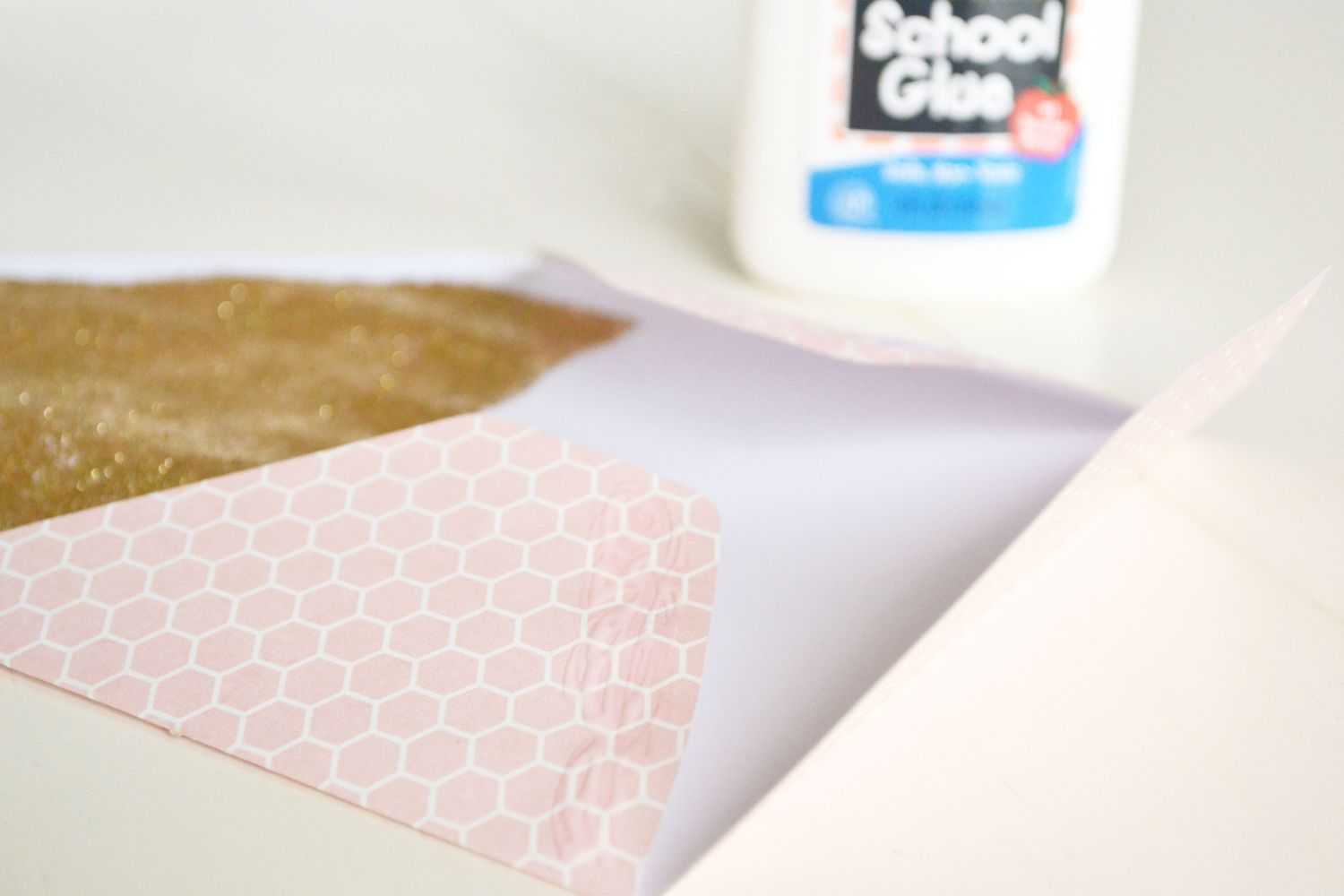 Glitter Lined envelopes 10